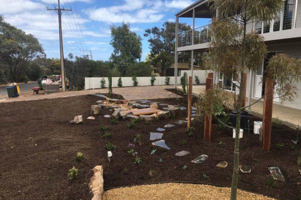 Landscaped front garden - Adelaide Landscaping - TGLandscapes