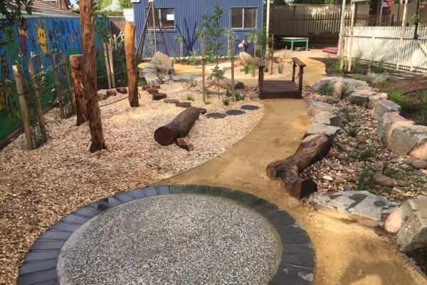 Nature playground alternate angle - Nature Play - TGLandscapes