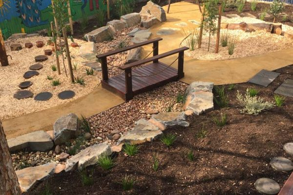 Nature Play playground - TGLandscapes